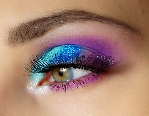 make up multicolor