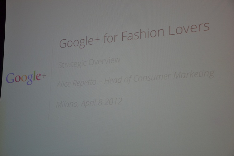 Google+ for Fashion Lovers , eventi google+, fashion bloggers italiane