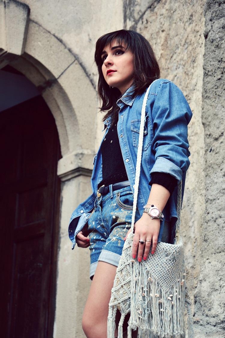 jack&co. orologi, outfit, fashion bloggers italiane, denim