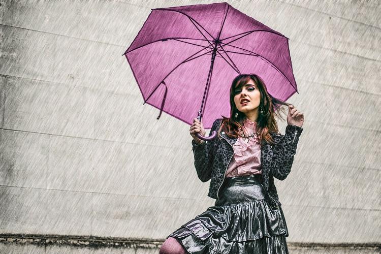 outfit pioggia