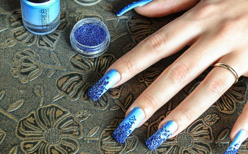 Half Caviar Manicure