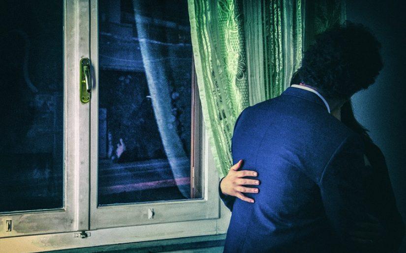 Ispirato a...Il bacio alla finestra - Munch