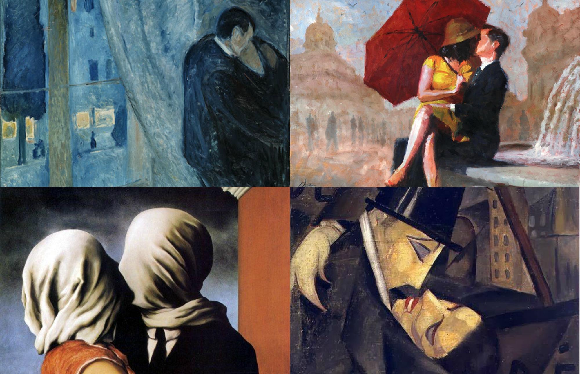 baci nell'arte