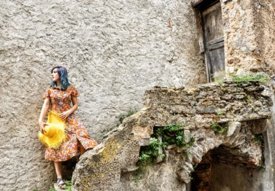 Outfit Vintage capelli turchini
