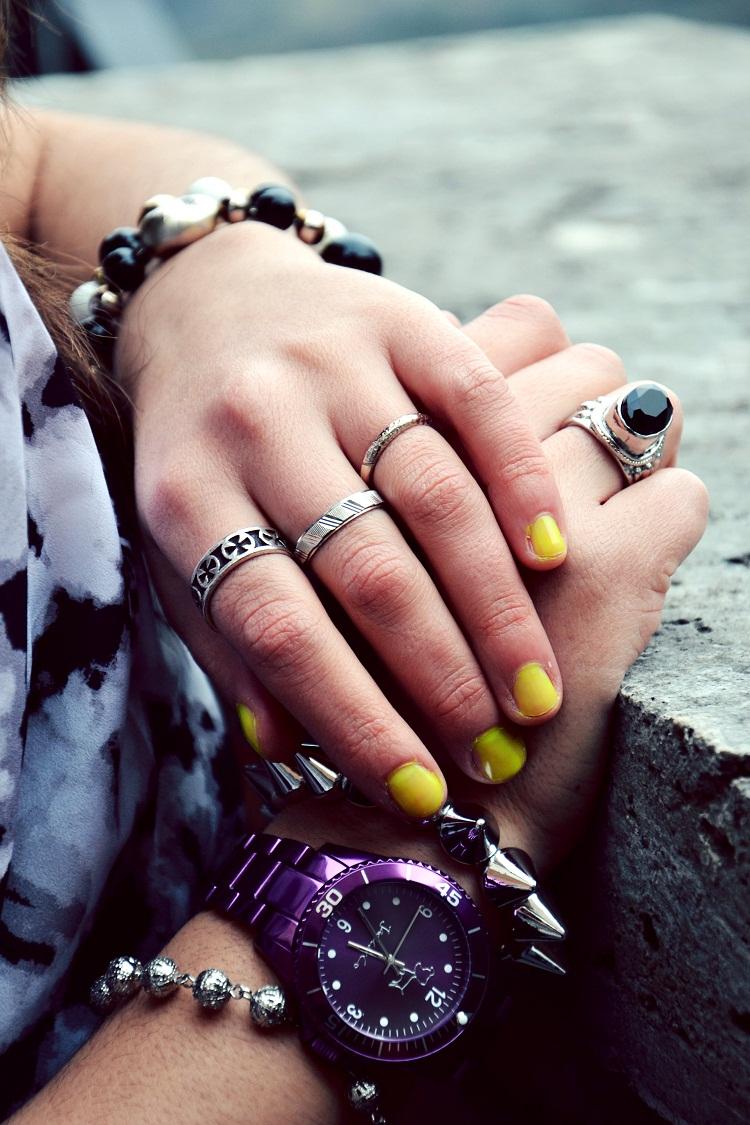 Jack& Co. Orologi, borchie, gioielli, fashion bloggers