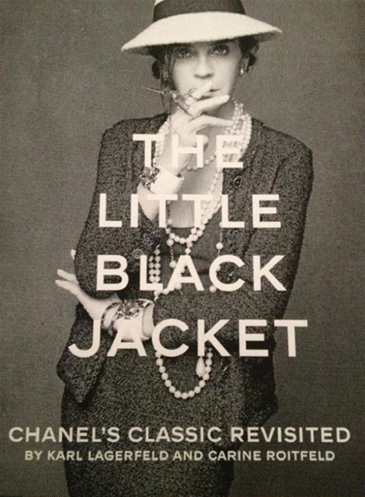 the little black jacket chanel, milano, mostre, fashion, dans la valise, coco chanel