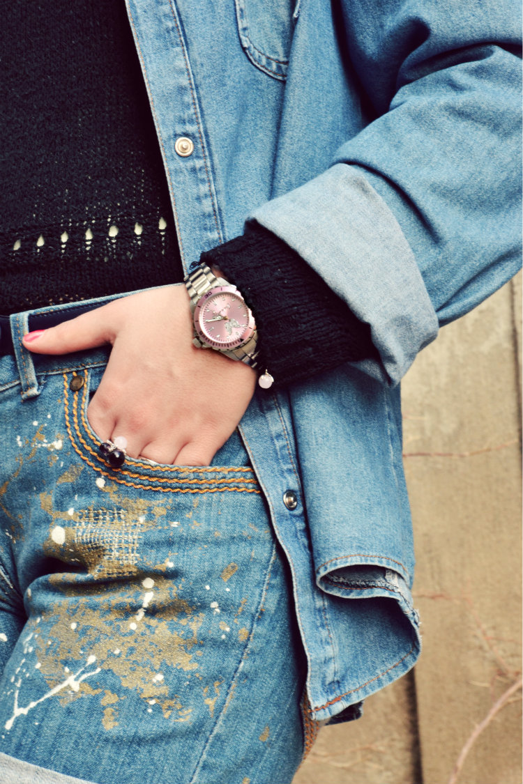 jack&co. orologi, outfit, fashion bloggers italiane, denim