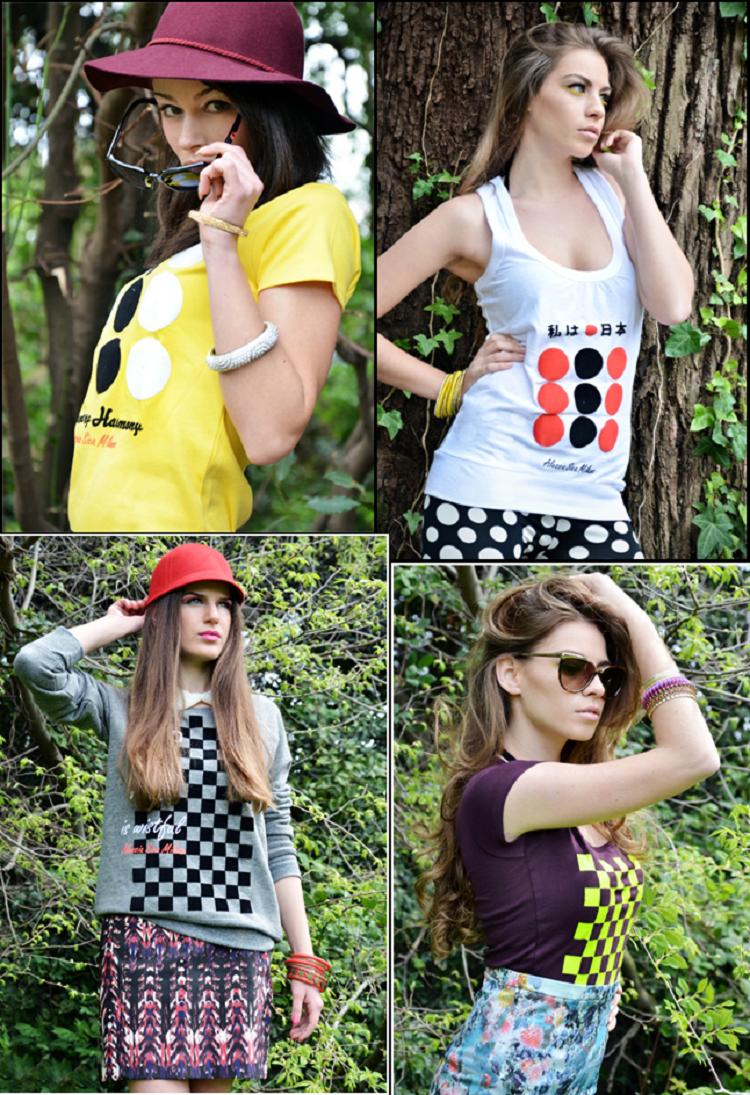 alessia sica, elementary harmony, alessia sica milano, nuove collezioni, abiti, street style, moda stampe, stripes,