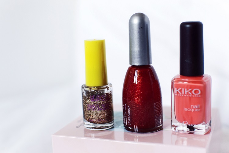 smalti, make up, tutorial, hm, kiko