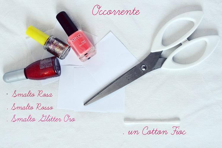 tutorial nail art valentine's day, hearts nails, tutorial make up, diy nail art