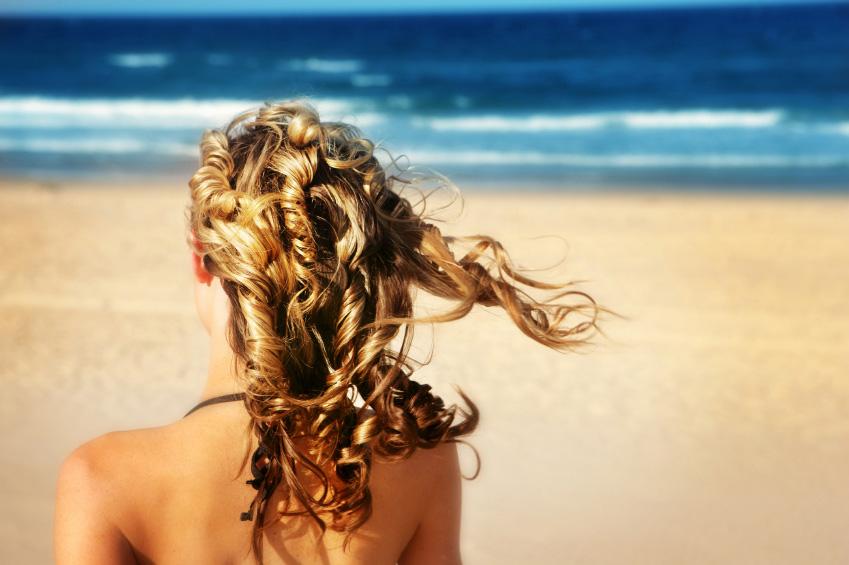 acconciature da spiaggia
